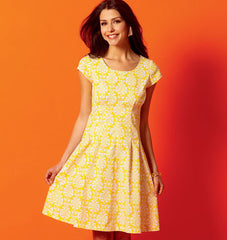 McCall's - M6958 Misses' (& Petite) Dresses | Easy - WeaverDee.com Sewing & Crafts - 1
