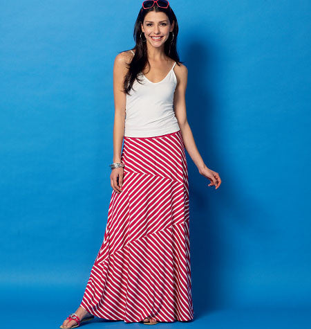 McCall's - M6966 Misses' Skirts | Easy - WeaverDee.com Sewing & Crafts - 1
