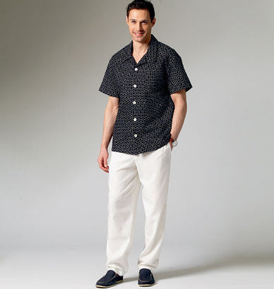 McCall's - M6972 Men's/Boys' Shirt, Shorts & Pants - WeaverDee.com Sewing & Crafts - 1