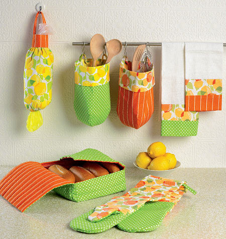 McCall's - M6978 Apron & Kitchen Accessories - WeaverDee.com Sewing & Crafts - 1