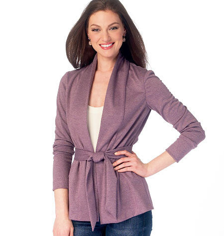 McCall's - M6996 Misses' Jackets & Belt - WeaverDee.com Sewing & Crafts - 1