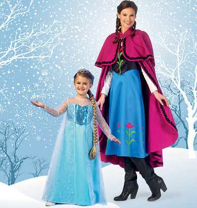 McCall's - M7000 Misses'/Children's/Girls' Princess Costumes - WeaverDee.com Sewing & Crafts - 1
