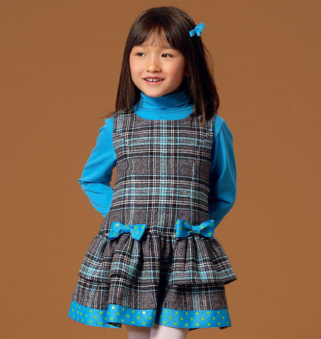McCall's - M7008 Children's/Girls' Jumpers - WeaverDee.com Sewing & Crafts - 1