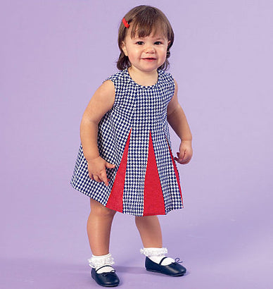McCall's - M7177 Infants' Dresses & Panties | Easy - WeaverDee.com Sewing & Crafts - 1