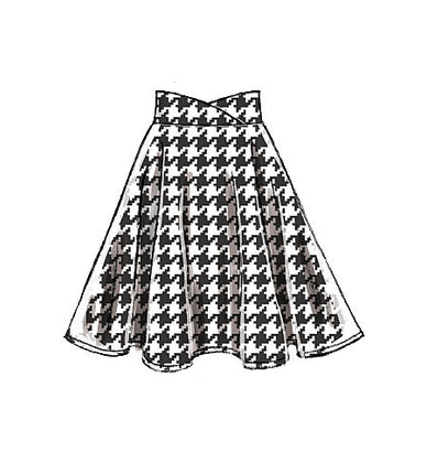 McCall's - M7197 Misses' Skirts | Easy - WeaverDee.com Sewing & Crafts - 1