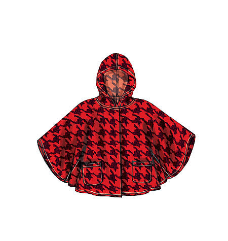 McCall's - M7202 Misses' Ponchos | Very Easy - WeaverDee.com Sewing & Crafts - 1