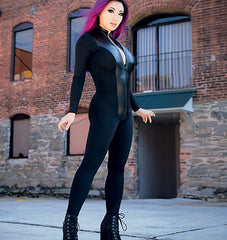 McCall's - M7217 Yaya Han Zippered Bodysuit | Easy - WeaverDee.com Sewing & Crafts - 1