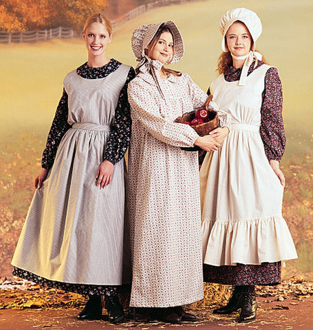 McCall's - M7220 Misses Pioneer Costumes - WeaverDee.com Sewing & Crafts - 1