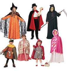 McCall's - M7224 Boys' & Girls' Cape & Tunic Costumes - WeaverDee.com Sewing & Crafts - 1