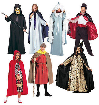 McCall's - M7225 Misses' & Mens' Cape & Tunic Costumes - WeaverDee.com Sewing & Crafts - 1