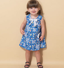 McCall's - M7308 Toddlers' Tent Dresses | Easy - WeaverDee.com Sewing & Crafts - 1