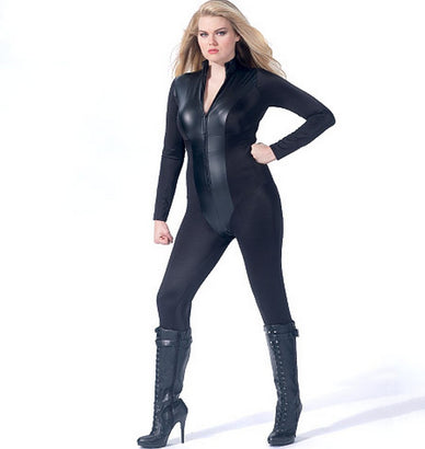 McCall's - M7341 Women's Zippered Bodysuit / Leotard by Yaya Han - WeaverDee.com Sewing & Crafts - 1