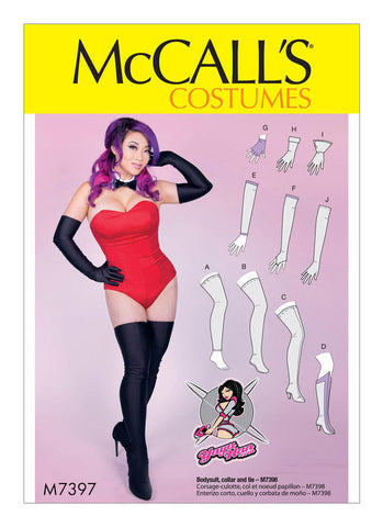 McCall's - M7397 Gloves, Arm & Leg Warmers, Stockings & Boot Covers - WeaverDee.com Sewing & Crafts - 1