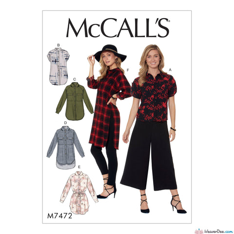 McCall's - M7472 - WeaverDee.com Sewing & Crafts - 1