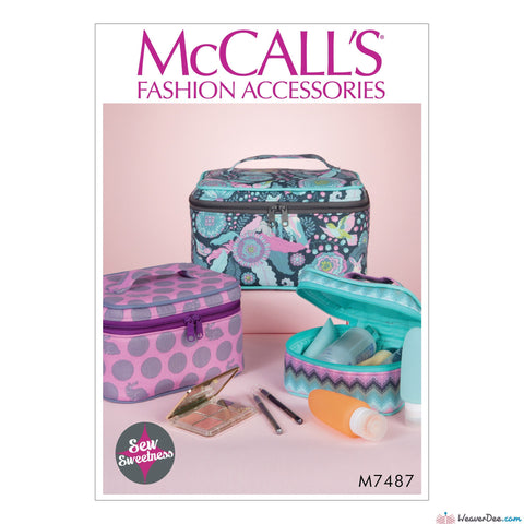 McCall's - M7487 Travel Cases in 3 Sizes - WeaverDee.com Sewing & Crafts - 1