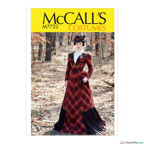 McCall's Pattern M7732 Misses' Victorian Costume