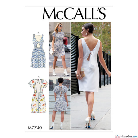 McCall's Pattern M7740 Misses' Dresses