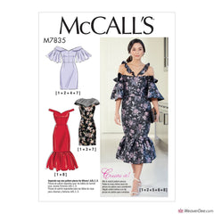 McCall's Pattern M7835 Misses' Dresses