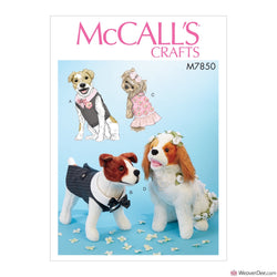 McCall's Pattern M7850 Pet Clothes