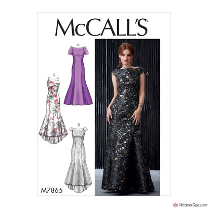 McCall's Pattern M7865 Misses' Dresses