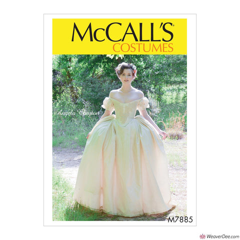 McCall's Pattern M7885 Misses' Dress Costume