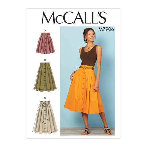 McCall's Pattern M7906 Misses' Skirts