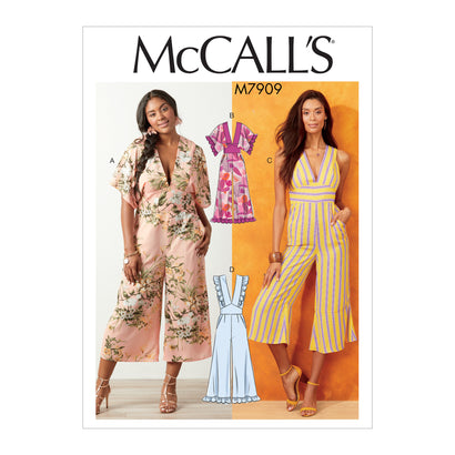McCall's Pattern M7909 Misses' / Women's Jumpsuits