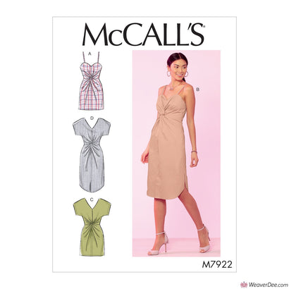 McCall's Pattern M7922 Misses' Dresses
