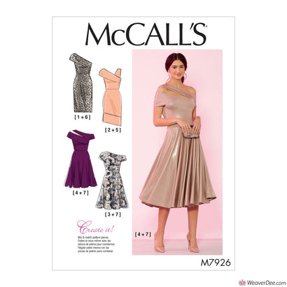 McCall's Pattern M7926 Misses' / Women's Special Occasion Dresses