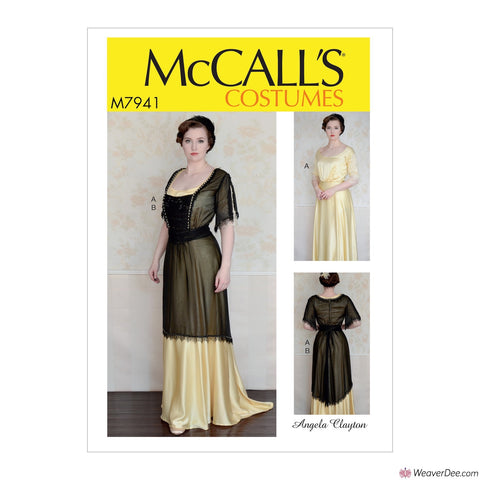 McCall's Pattern M7941 Misses' Mid Century Dress Costume