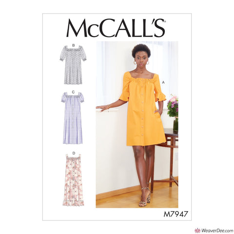 McCall's Pattern M7947 Misses' Dresses