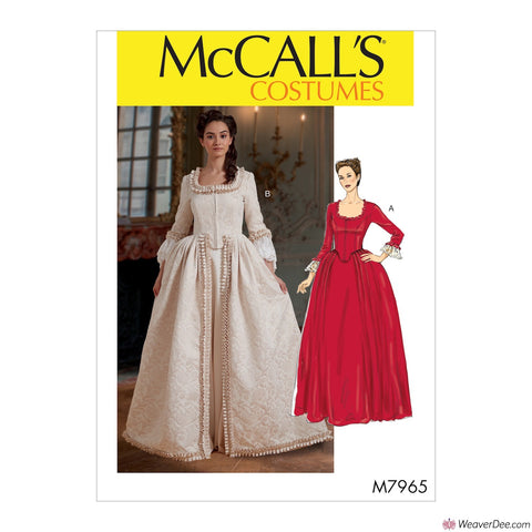 McCall's Pattern M7965 Misses' 19th Century Costume