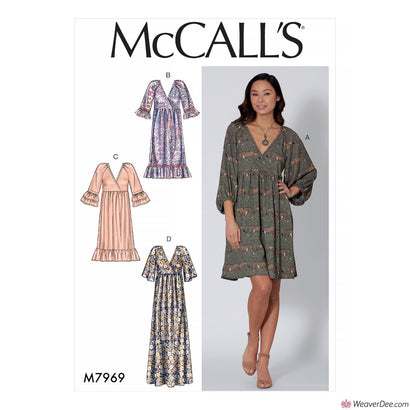 McCall's Pattern M7969 Misses' Dresses