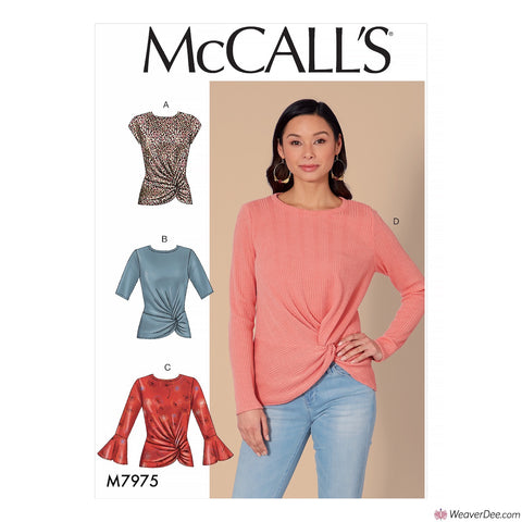 McCall's Pattern M7975 Misses' Tops
