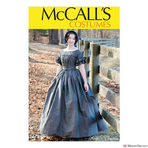 McCall's Pattern M7988 Misses' Victorian Dress Costume