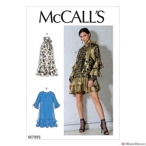 McCall's Pattern M7995 Misses' Dresses