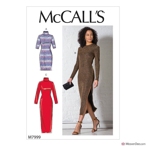 McCall's Pattern M7999 Misses' Dresses
