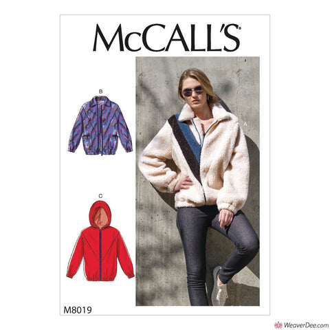 McCall's Pattern M8019 Misses' Jackets