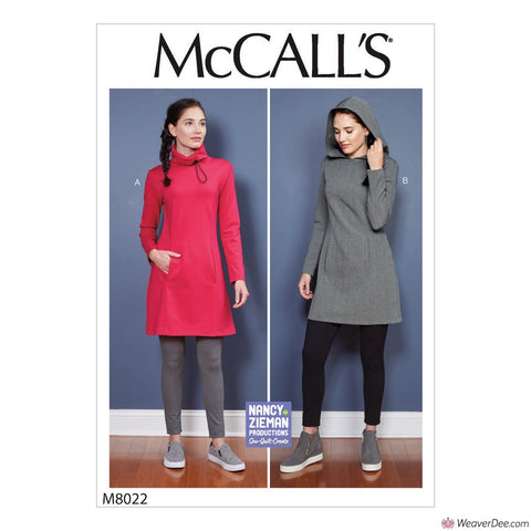 McCall's Pattern M8022 Misses' Dress