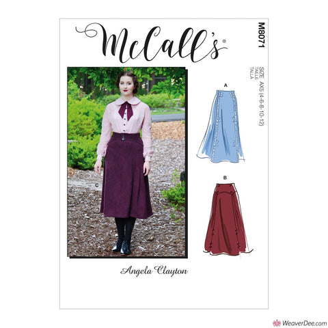 McCall's Pattern M8071 Misses' Edwardian Skirts