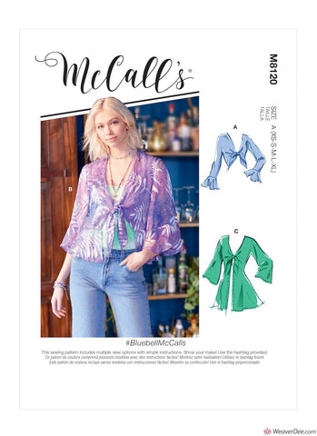 McCall's Pattern M8120 Misses' Jackets #BluebellMcCalls