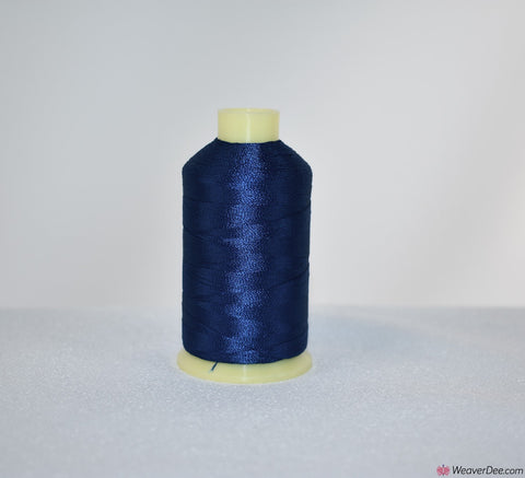 Marathon Rayon Machine Embroidery Thread (1000m) 1201 ROYAL BLUE