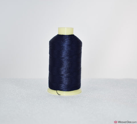 Marathon Rayon Machine Embroidery Thread (1000m) 1204 DARK INDIGO BLUE