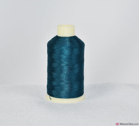 Marathon Rayon Machine Embroidery Thread (1000m) 1441 PETROL