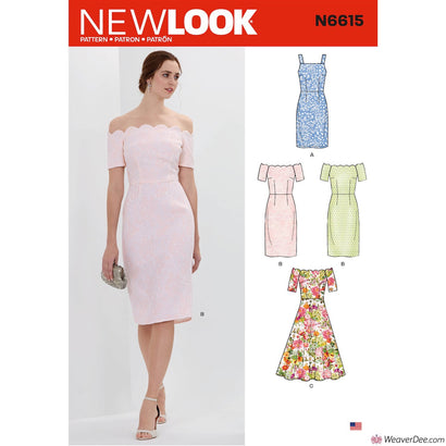 New Look Pattern N6615 Misses' Dresses