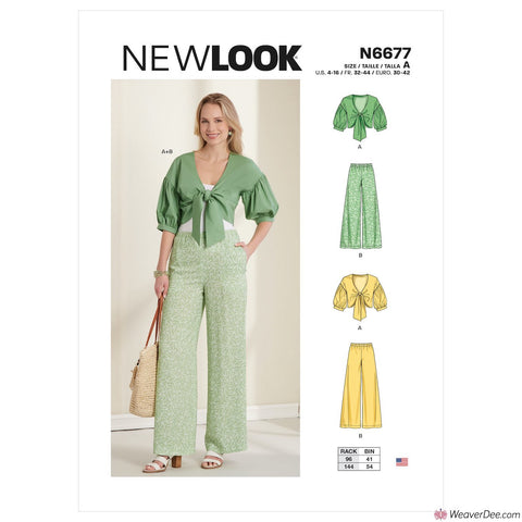 New Look Pattern N6677 Trousers & Cropped Jacket