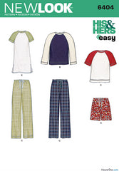 New Look - NL6404 Misses' & Men's Separates - WeaverDee.com Sewing & Crafts - 1