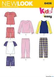 New Look - NL6406 Children's Separates | Easy - WeaverDee.com Sewing & Crafts - 1