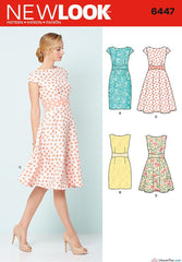 New Look - NL6447 Misses Dress - WeaverDee.com Sewing & Crafts - 1