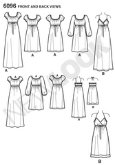 New Look - NL6096 Misses' Dress - WeaverDee.com Sewing & Crafts - 1
